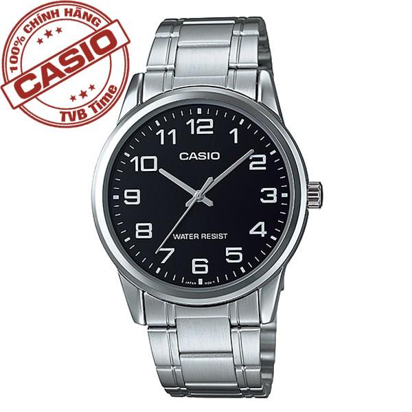 Đồng hồ nam dây kim loại Casio Standard chính hãng Anh Khuê MTP-V001D-1BUDF