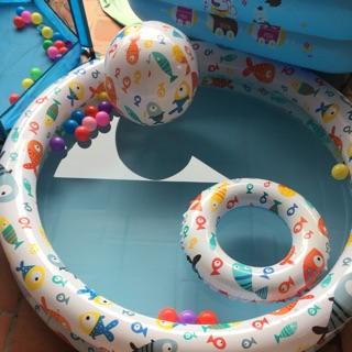 Bể bơi 3 chi tiết tặng 10 trái bóng nhỏ