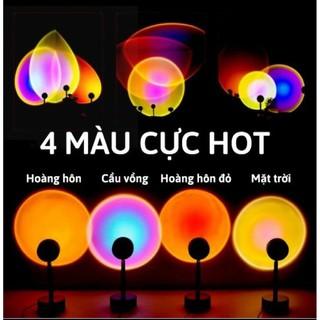 Đèn hoàng hôn SIÊU HÓT Đèn led dùng để trang trí, chụp ảnh, quay video tik tok, livestream, chuyển đổi 4 màu đa dạng. thumbnail