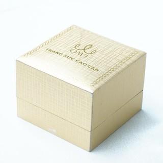 QMJ Hộp nhẫn đơn, hộp đựng trang sức khuyên tai nhẫn cưới cao cấp sang trọng kiểu nắp gập - Q566 thumbnail