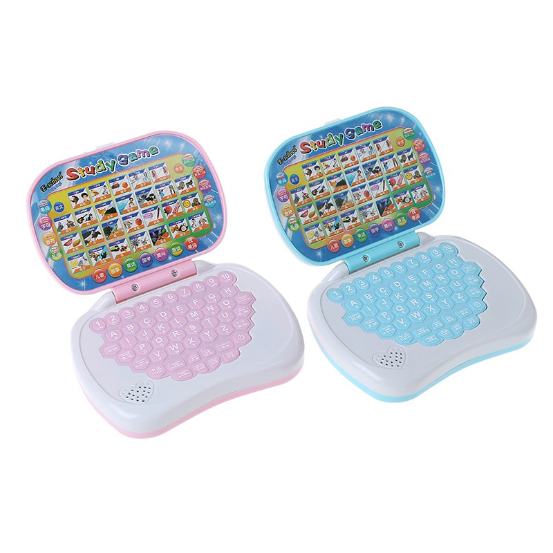 SUN55❤❤Baby computer kids pre school educational learning study toy laptop game