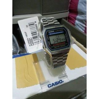 Đồng hồ UNISEX CASIO A168 cực đẹp, tinh tế, phong cách thời trang-watches.vn thumbnail