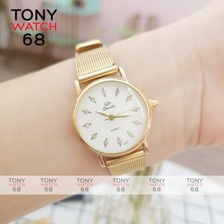 Đồng hồ nữ QB dây da mặt kính cong bản mini sang chảnh chính hãng Tony Watch 68 thumbnail