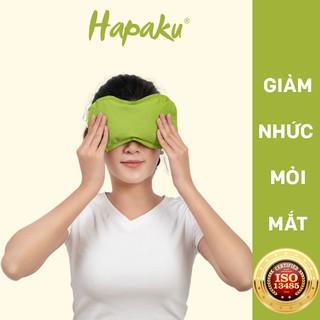 Túi Chườm Nóng Thảo Dược Giảm Nhức Mỏi Mắt Dùng Lò Vi Sóng - Hapaku thumbnail