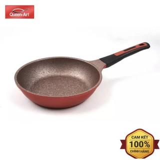 (QUEEN ART) Chảo đá chống dính Hàn Quốc chính hãng, dùng cho mọi loại bếp, bếp từ (đủ size)