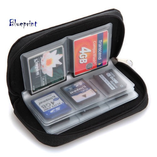 囍BPSD SDHC MMC CF Micro SD Memory Card Storage Carrying Pouch Case Holder Wallet