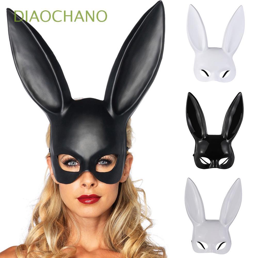 Mặt nạ tai thỏ hóa trang Halloween cho phái