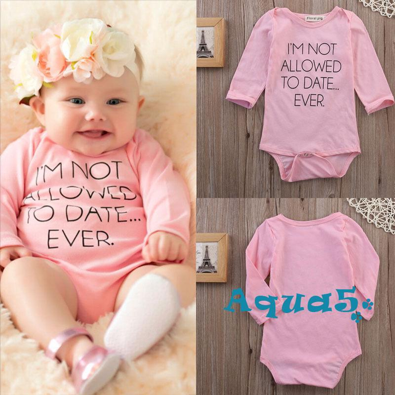 ✿ℛNewborn Infant Baby Boy Girl Kids 0-24M Romper Jumpsuit Bodysuit Clothes Best