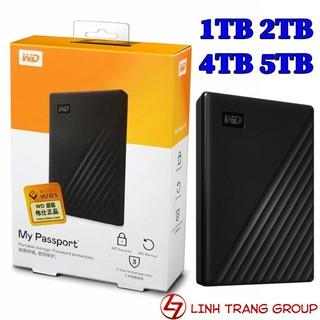 Ổ cứng di động USB3.0 My Passport 5TB 4TB 2TB 1TB - hàng nhập khẩu, bảo hành 3 năm - SD36 SD37 SD38 SD39