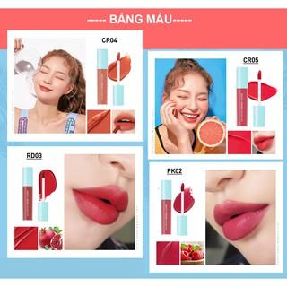 Son Kem Hiệu Ứng Nhung Mịn A Pieu Juicy Pang Mousse Tint 5.5G-3