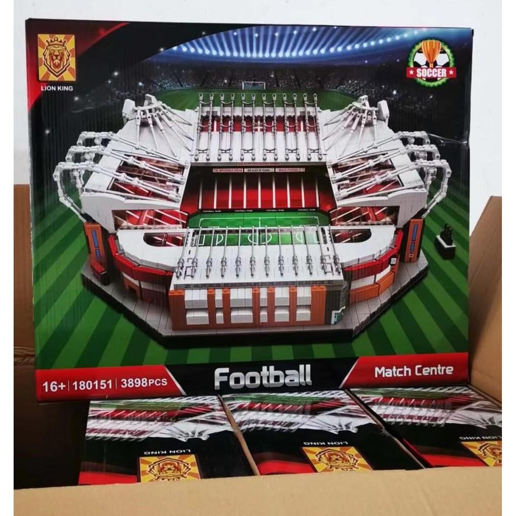 Lego – Lion King 180151 ( Mô Hình Sân Vận Động Old Trafford Của Đội Bóng Manchester United 3898 Mảnh )