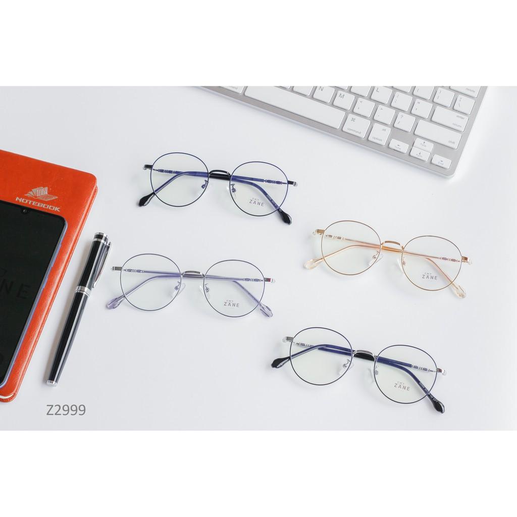 [LẮP SẴN CẬN] – Kính cận nam mắt tròn,Gọng kính từ hợp kim cao cấp Z2999