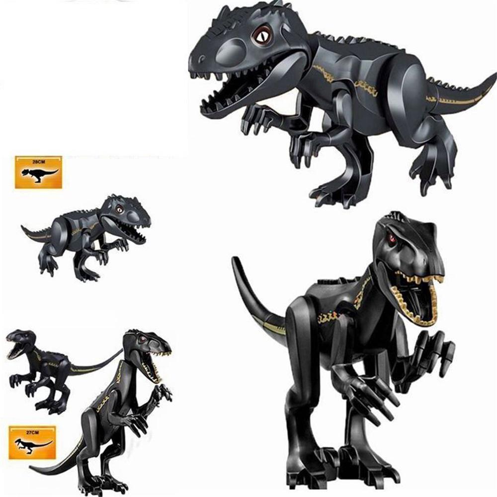 geeka-Dinosaur Figures Toy Raptor Dinosaurs Rex Building Blocks Bricks