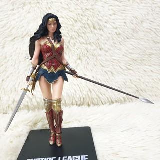 [RẺ NHẤT][HÌNH THẬT 100%] Mô hình Wonder Woman Justice League DC