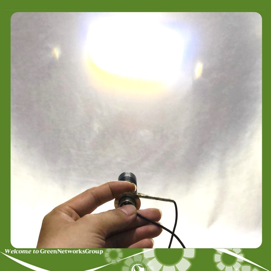 Đèn LED M5 bi cầu cos pha vàng trắng HJG (Double Color) Greennetworks