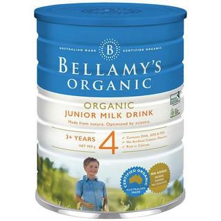 Sữa Bột Bellamy s Organic Toddler Milk Drink Số 4 thumbnail