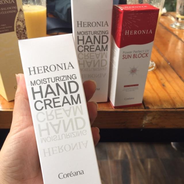 Kem dưỡng da tay henonia thương hiệu Coreana hàng chuẩn chính hãng