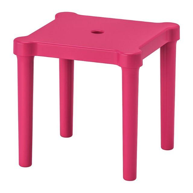 Ghế nhựa cho trẻ Utter Ikea 28 x 28 x 27 cm (Hồng)