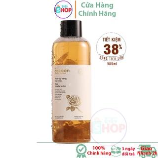 Nước tẩy trang hoa hồng Cocoon 500ml Nước tẩy trang ttshop thumbnail