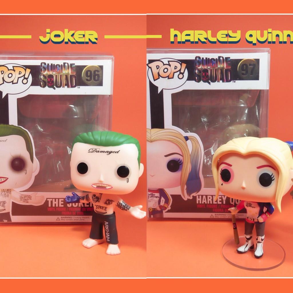 Mô hình Funko POP! DC Joker & Harley Quinn