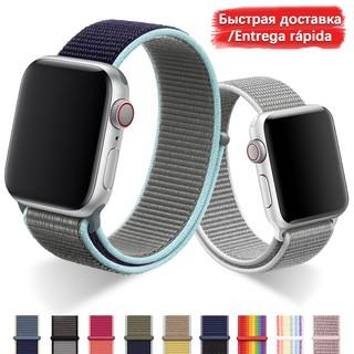 Dây đeo thay thế chất liệu nylon thoáng khí cho Apple Watch Series 5 4 3 2 1 38MM 42MM 40MM 44MM