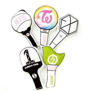 Gối bông hình lightstick BTS, Wanna one, EXO, GOT7, Blackpink