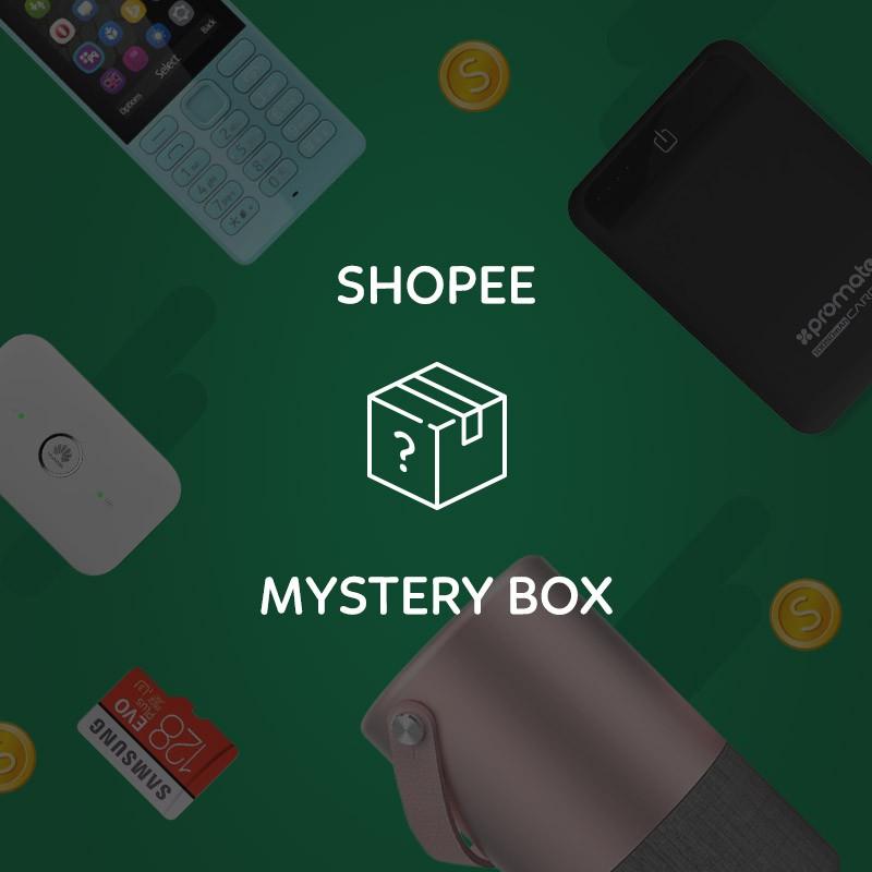 Shopee - Hộp Quà Bí Mật