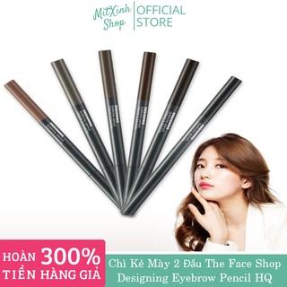 [HÀNG AUTH] CHÌ KẺ MÀY THE FACE SHOP - Chì Kẻ Mày 2 Đầu The Face Shop Designing Eyebrow Pencil thumbnail