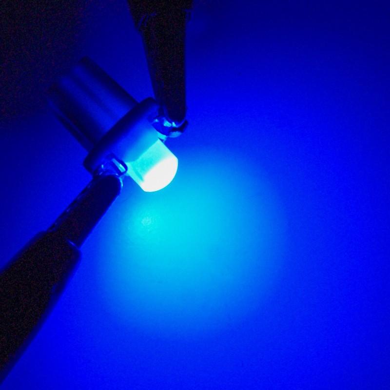 Bộ 10 Bóng Đèn LED Kevanly B8.5D T3 T4.2 T4.7 Màu Xanh Dương Đỏ Xanh Lục Vàng Tùy Chọn Làm Đèn Bảng Điều Khiển Xe Hơi