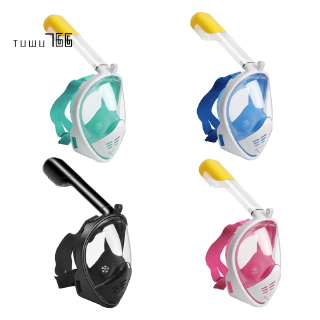 Scuba Diving Mask Full Face Snorkeling Mask Dive Men,Pink S/M