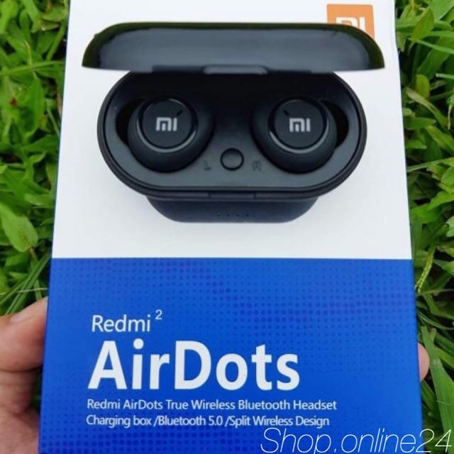 [CAM KẾT CHÍNH HÃNG]Tai Nghe Bluetooth AirDots Redmi2 True Wireless Công Nghệ 5.0 Cảm Biến Tự Động Kết Nối