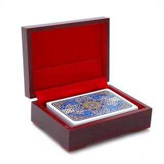 Hộp gỗ kỉ niệm bảo quản thẻ bài poker ABB