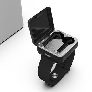 Đồng Hồ Bluetooth 5.0 Không Dây TWS, Tai Nghe Thể Thao Phong Cách Với Bộ Tai Nghe Thể Thao Chạy TF Tai Nghe Điều Khiển C thumbnail