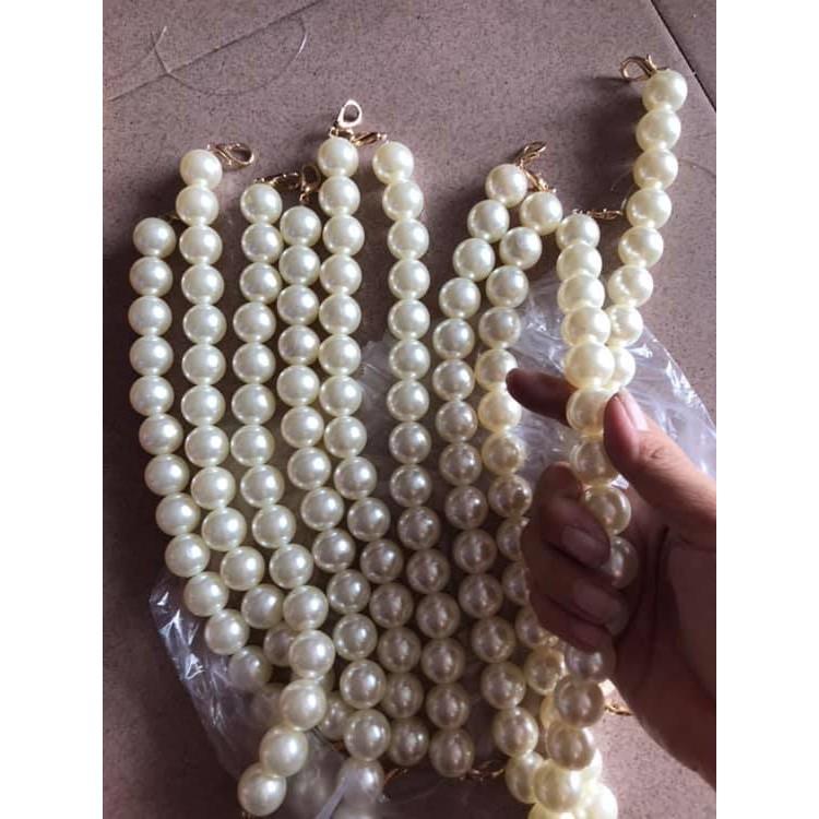 Phụ kiện làm túi chuỗi hạt ( 1 dây)