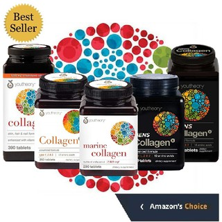 Collagen Youtheory Type 1 2 & 3 +C super collagen tuyp 1&3 for men hair skin nails thumbnail