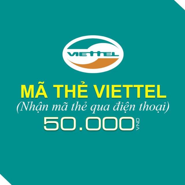 Thẻ điện thoại Viettel 50.000đ, 50k
