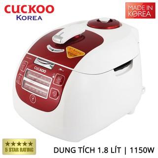 Nồi cơm điện tử áp suất Cuckoo CRP-G1015M dung tích 1.8 lít xuất xứ Hàn Quốc - Bảo hành chính hãng 24 tháng