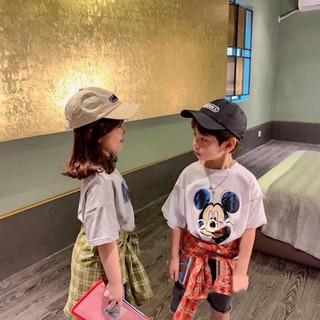 Áo Thun Mickey Family Cho Bé 💖 Áo Phông Cộc Tay Cotton Cực Chất Cho Bé Trai Bé Gái