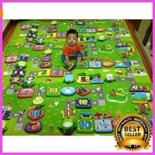 [ Hàng Đẹp ] Thảm Maboshi 2 mặt m8×2m cho bé