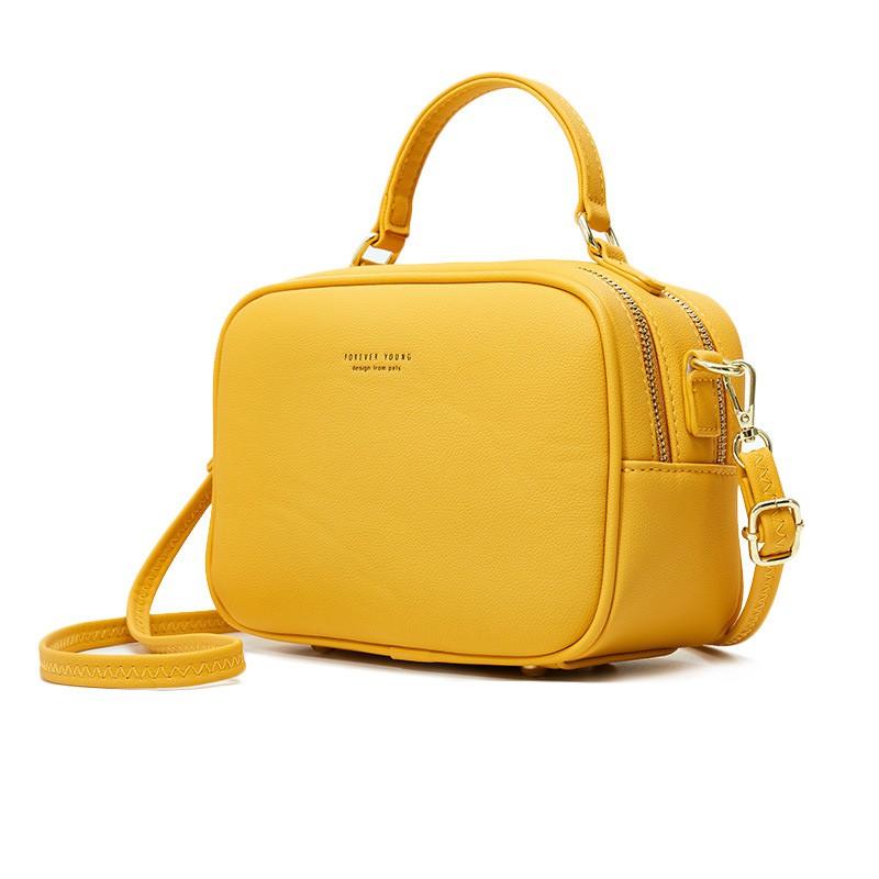 Túi đeo chéo nữ đi chơi PIERRE LOUES đẹp da mềm đi học cá tính TX497