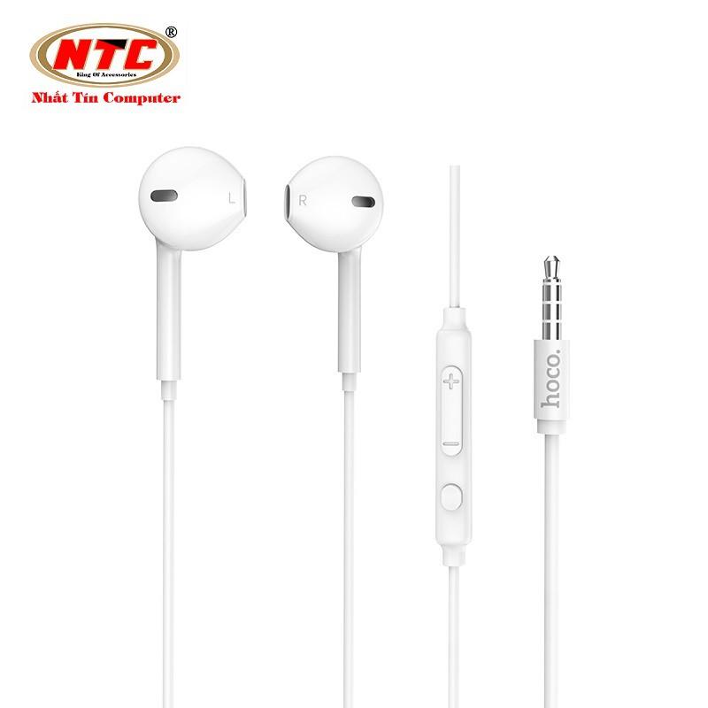 Tai nghe nhét tai Hoco M55 jack 3.5 dành cho điện thoại/máy tính bảng - Hàng chính hãng