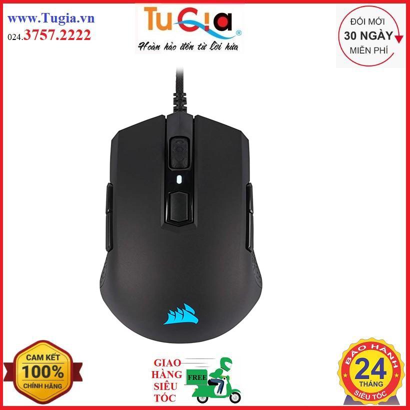 [Mã SKAMPUSHA7 giảm 8% đơn 250k]Chuột Corsair M55 RGB PRO Black/White - PAW3327 (CH-9308011-AP / CH-9308111-AP)