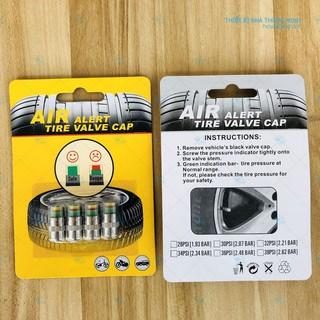 Bộ 4 thiết bị cảnh báo áp suất lốp ô tô thumbnail