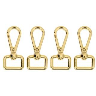 Set 4 móc khóa túi xách bằng kim loại kiểu dáng cổ điển thumbnail
