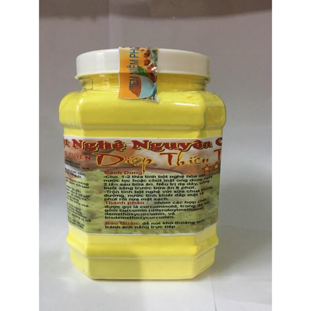 [ mgg 10% SHOPTH] 1kg tinh bột nghệ vàng thủ công nguyên chất có giấy ATTP.