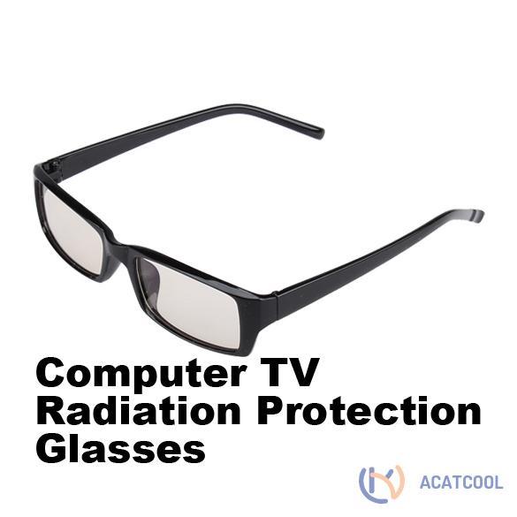 Acatcool Women Men Radiation Protection Computer Glasses Unisex Square Frame Glasses