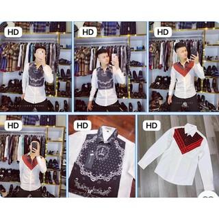 Áo Sơ mi nam cao cấp vải lụa cotton siêu mát, Sơ mi dài tay phong cách Hàn Quốc đẹp nam tính mới