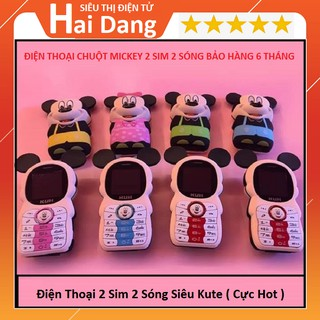 Điện Thoại Chuột Mickey Điện Thoại 2 Sim 2 Sóng Kute Siêu Đáng Yêu (Hot 2019) thumbnail