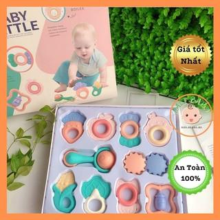 Bộ đồ chơi gặm nướu xúc xắc 10 món Baby Rattle cho bé thumbnail