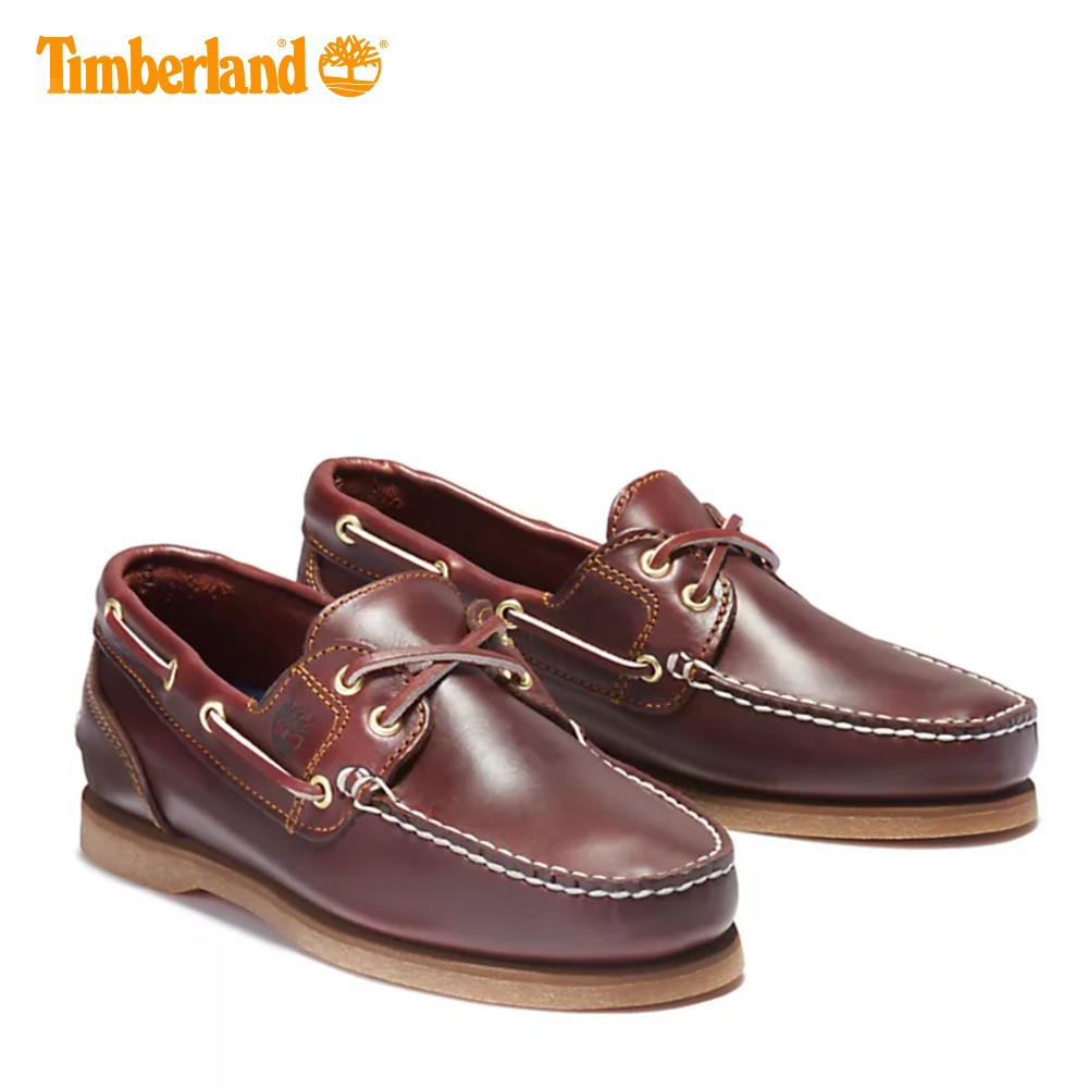 Giày lười Nữ Amherst 2-Eye Classic Boat Rootbeer Timberland